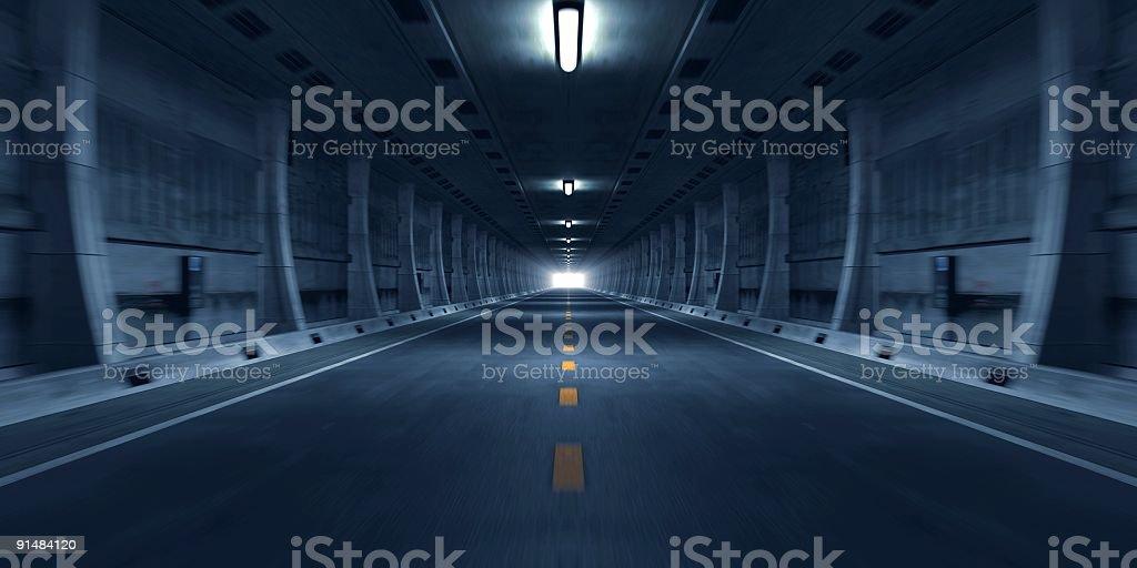 Road Tunnel - Lizenzfrei Abstrakt Stock-Foto
