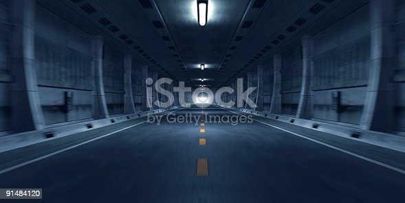 istock Road Tunnel 91484120