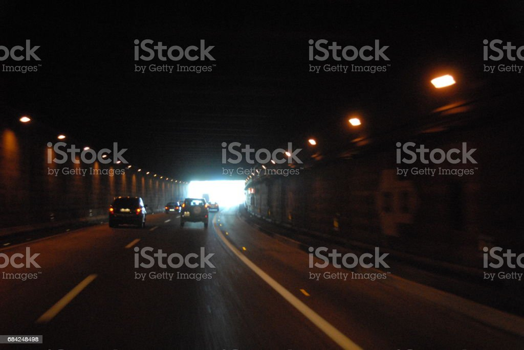 Strassentunnel in Spanien royalty-free stock photo