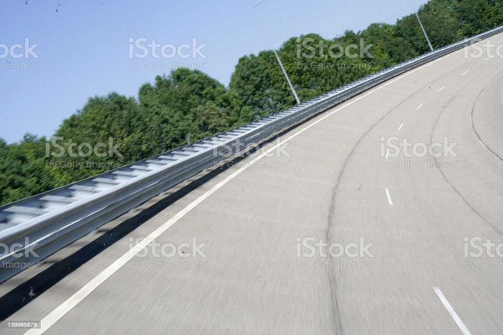 road warp stock photo