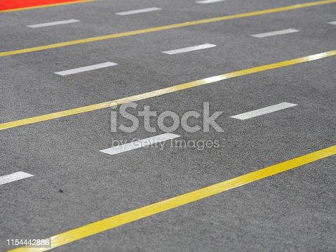 833130962 istock photo Road with marking lines 1154442886