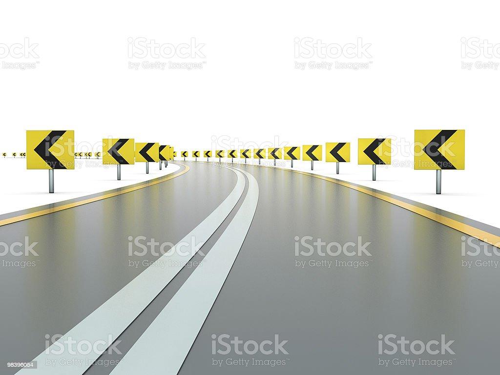 도로, 징후 royalty-free 스톡 사진