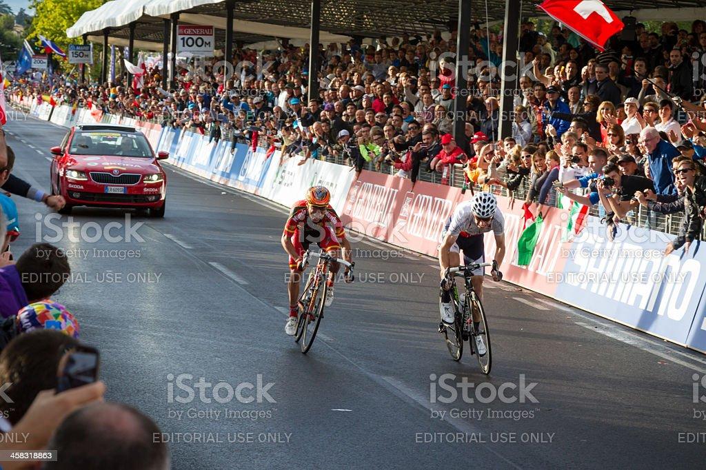 2013 UCI Road World Championship, Florence - Man Elite Race stock photo