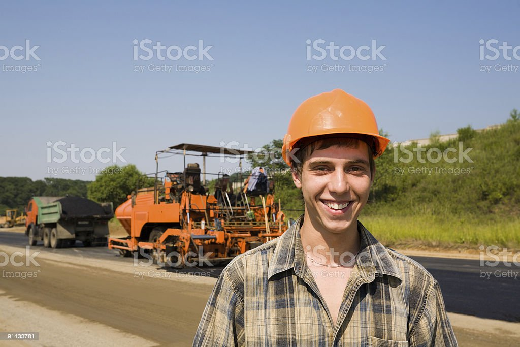 roadman royalty-free stock photo