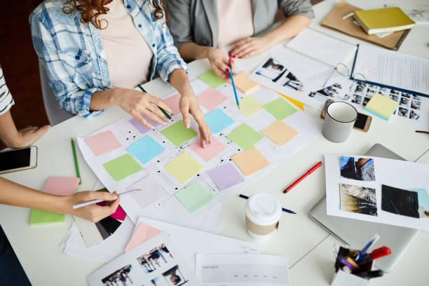 roadmap werk - roadmap stockfoto's en -beelden