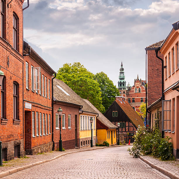 roads of lund - lund stock photos and pictures