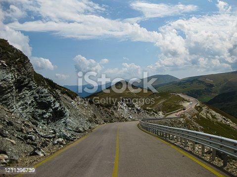 Amazing nature and view on Transalpina, Romania