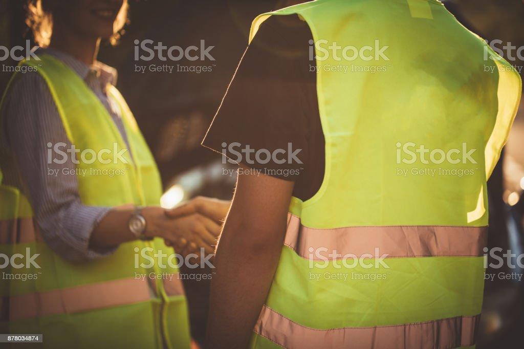 Roadside Assistance stock photo