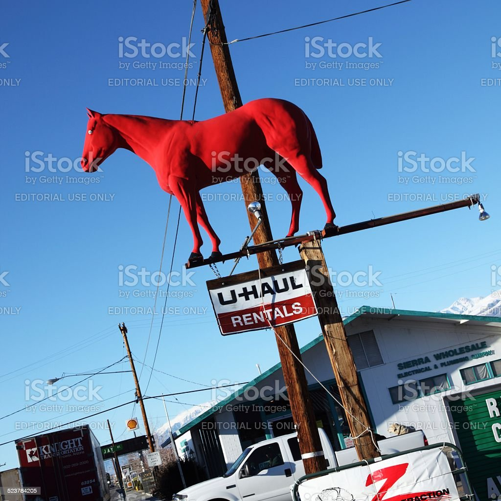 Roadside Attractions stock photo