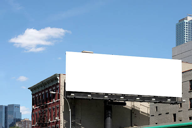 roadside billboard roadside billboard in new york city billboard stock pictures, royalty-free photos & images