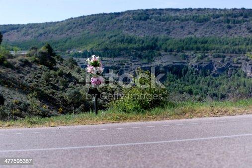 istock Roadside Memorial 477595387
