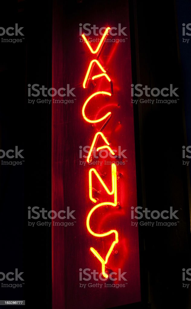 roadside motel sign stock photo