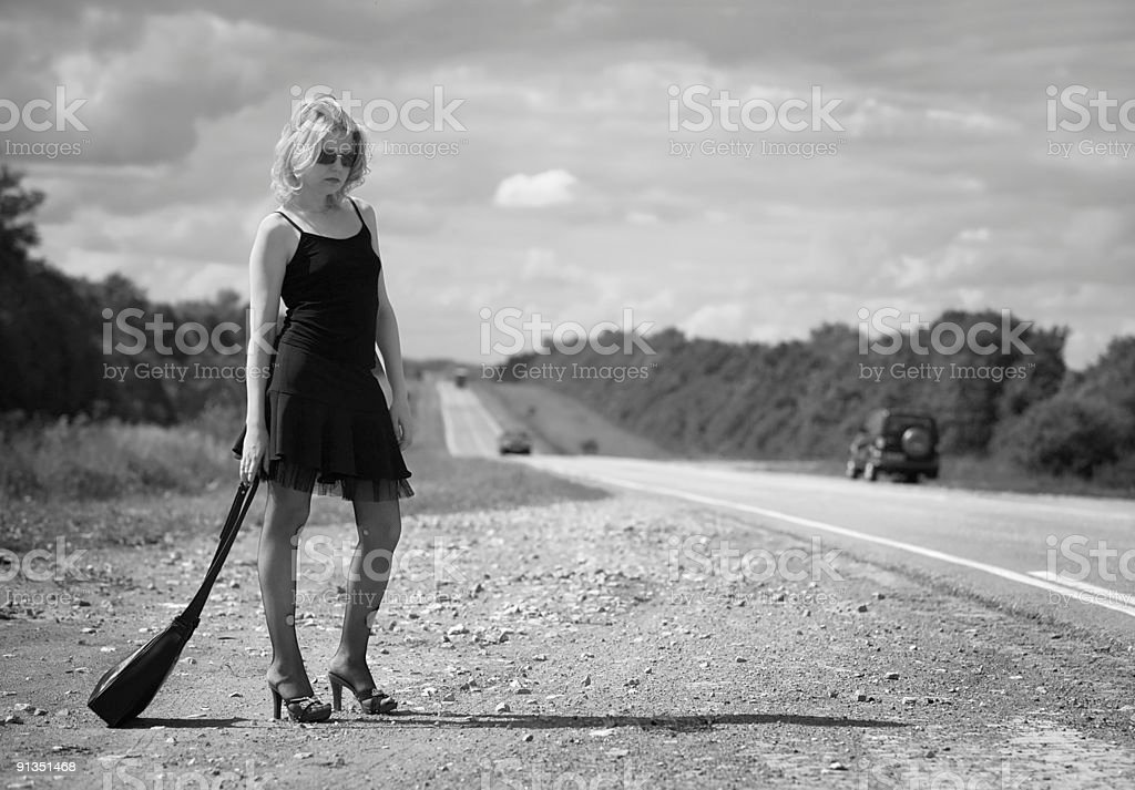 Roadside of life royalty-free stock photo