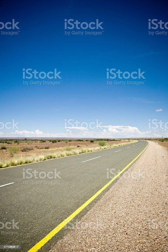 Roadside royalty-free stock photo