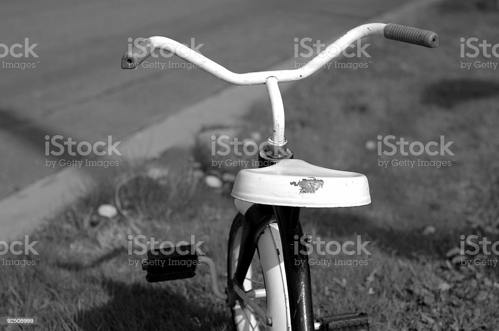 Roadside Tricycle royalty-free stock photo