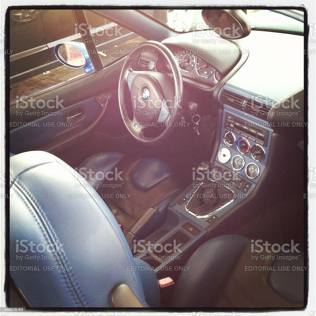 BMW M Roadster innen – Foto