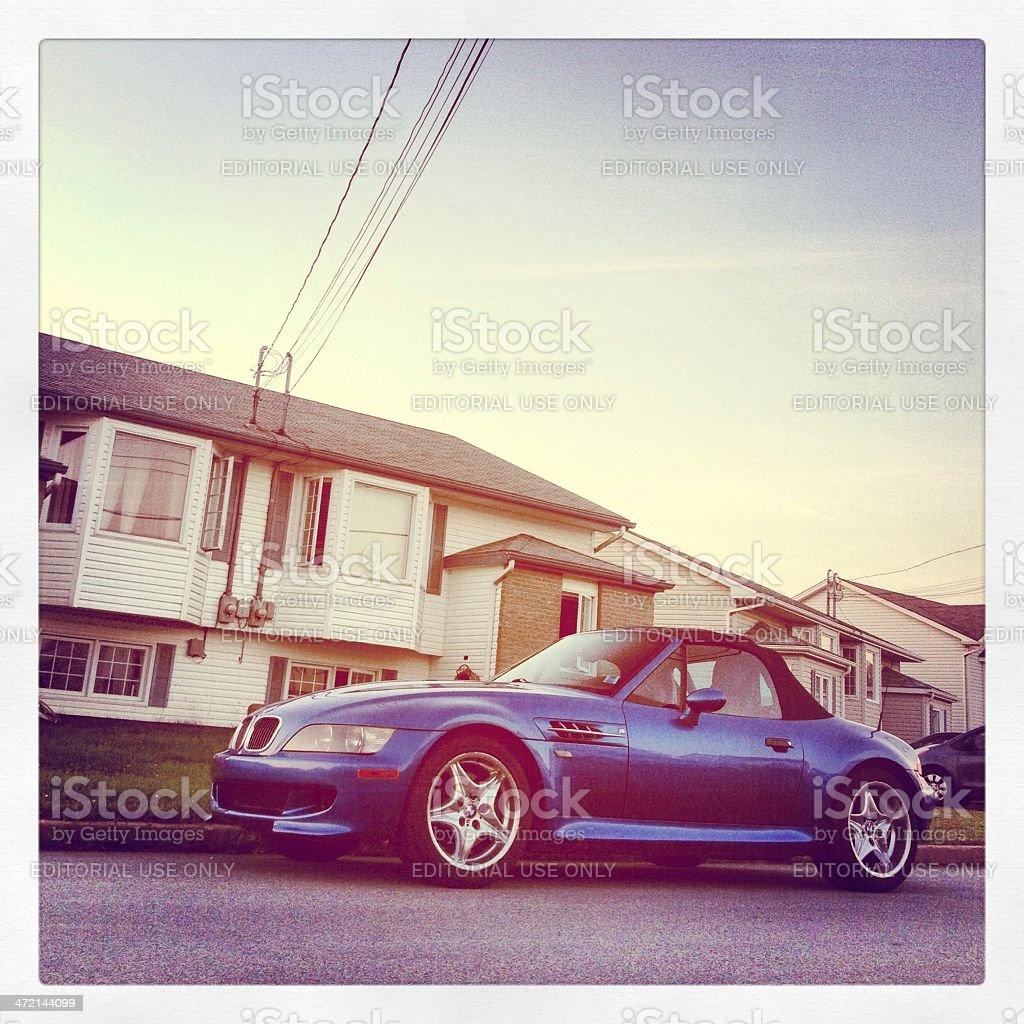 BMW M Roadster royalty-free stock photo