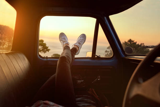 Roadtrip chill - foto de stock