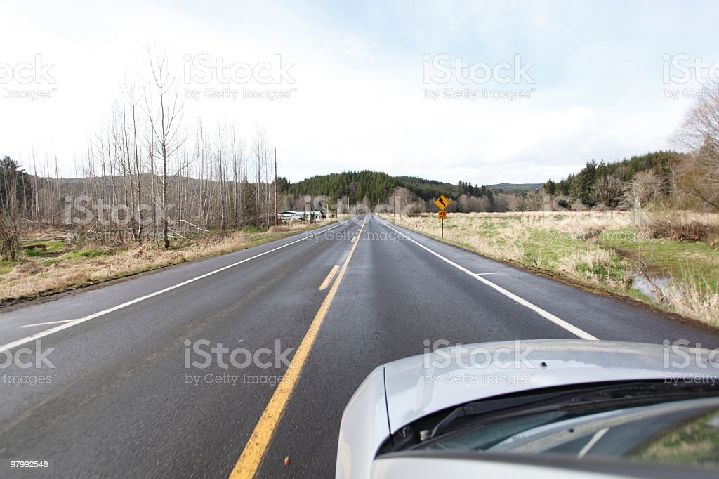 Roadtrip royalty free stockfoto