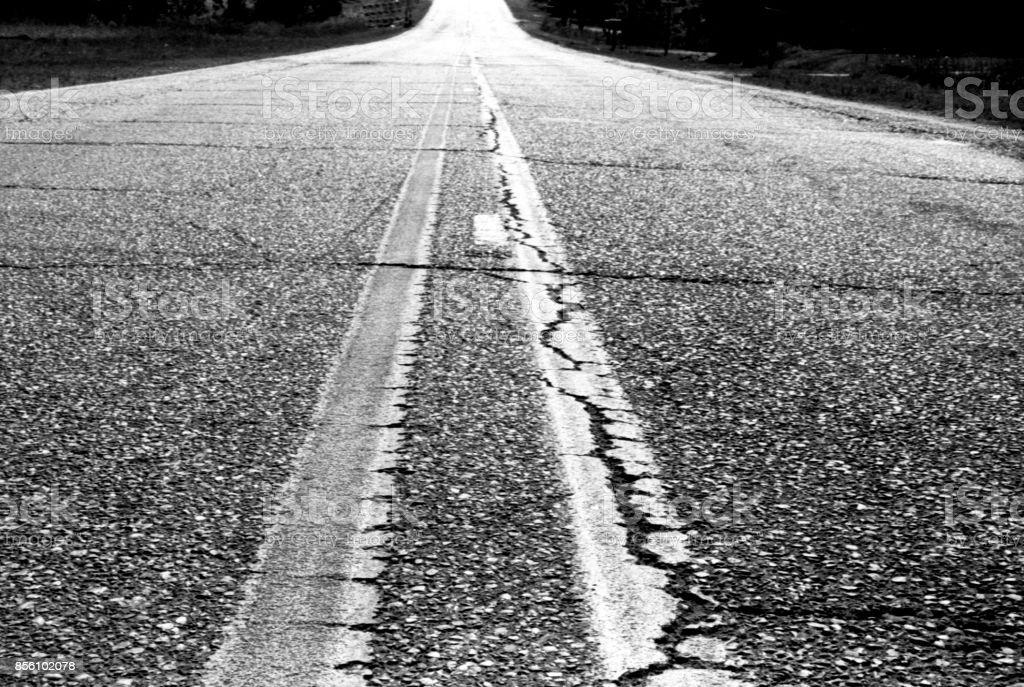 Roadway stock photo
