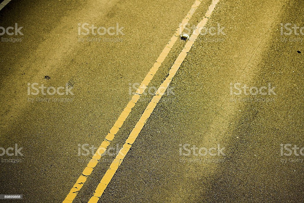 Roadway royalty-free stock photo