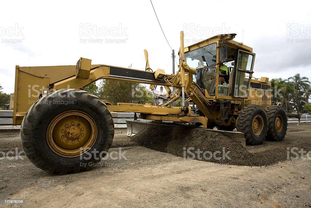 Roadworks stock photo
