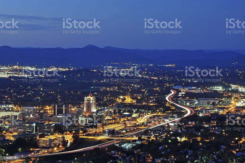 Roanoke City stock photo