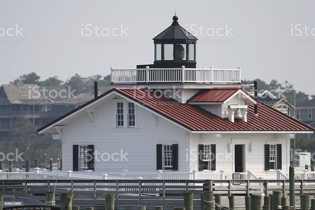Roanoke Island Lighthouse royalty-free stock photo