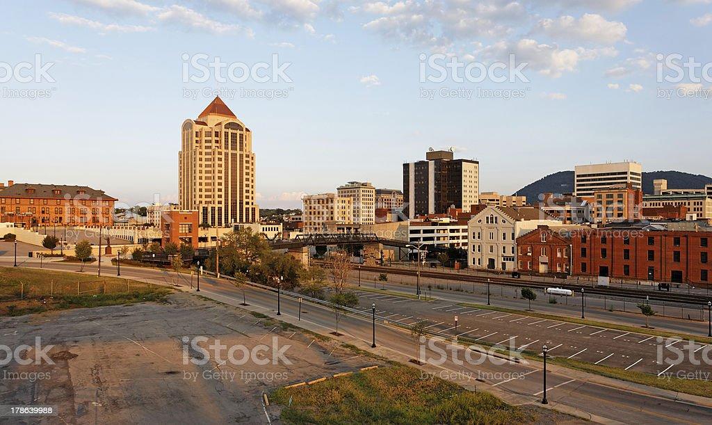 Roanoke stock photo