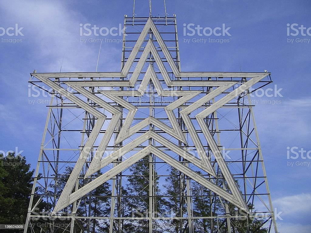 Roanoke Star stock photo