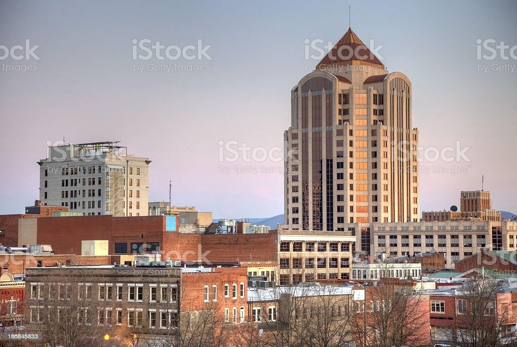 Roanoke Virgina royalty-free stock photo