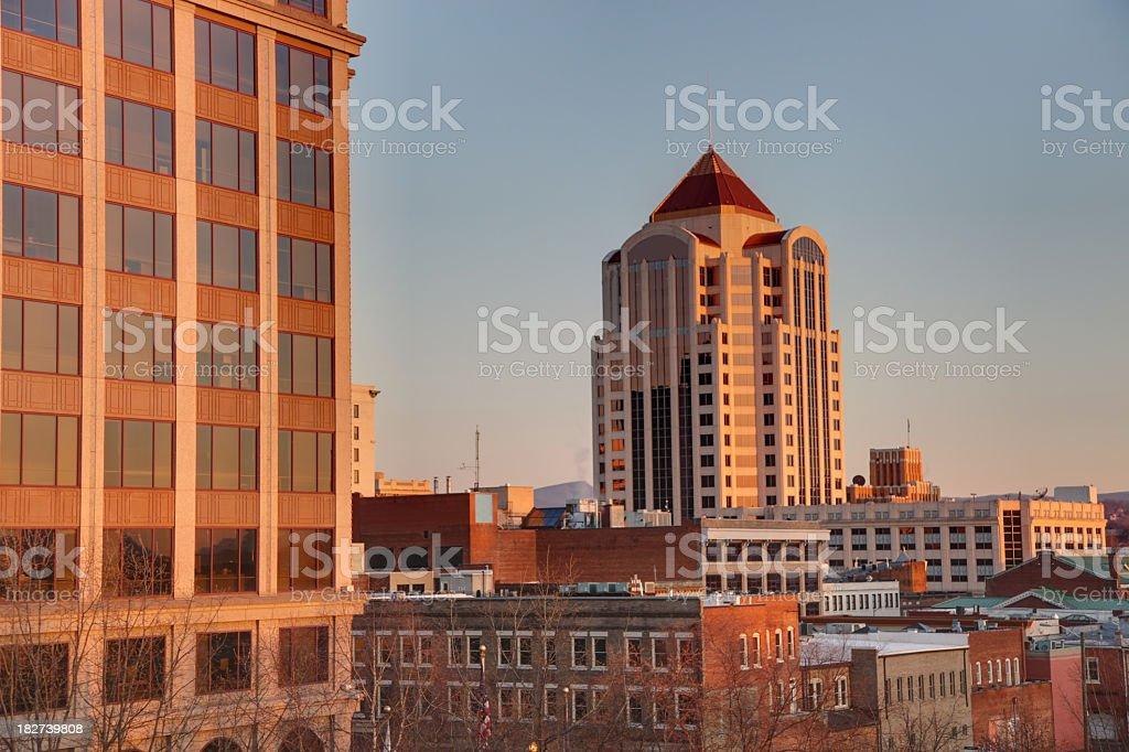 Roanoke, Virginia stock photo