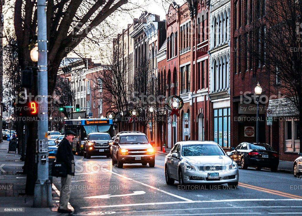 Roanoke, Virginia. stock photo