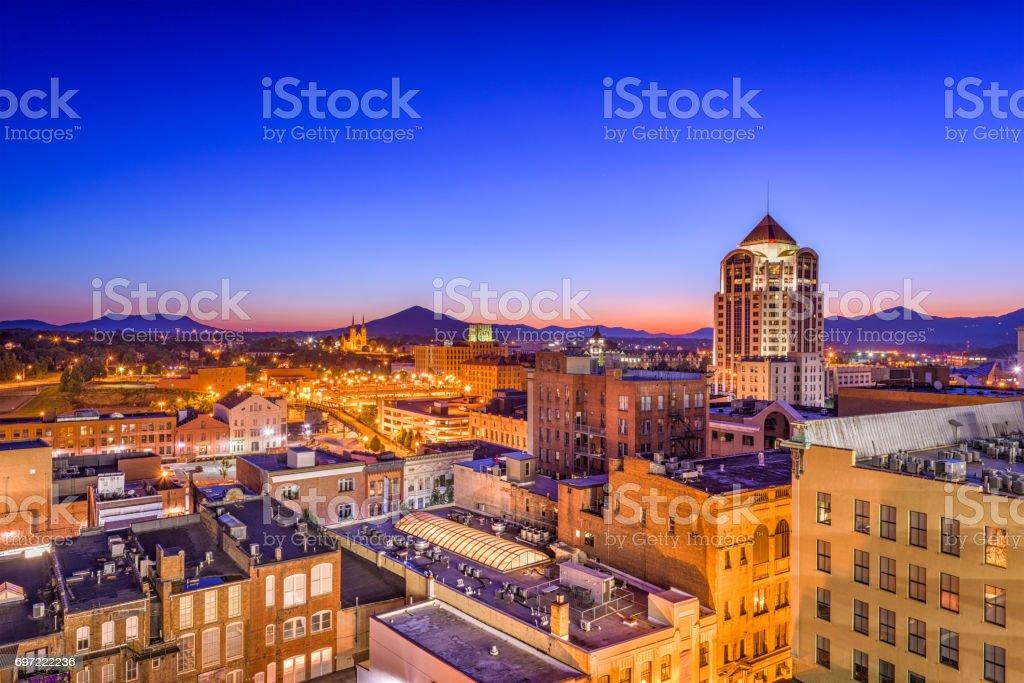 Roanoke, Virginia, USA stock photo