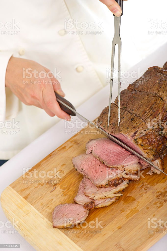 Roast Beef Carvery royalty-free stock photo