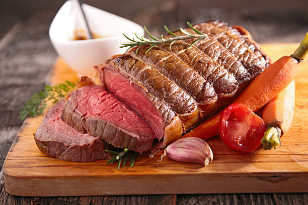 roast beef fillet roast beef fillet roast beef stock pictures, royalty-free photos & images