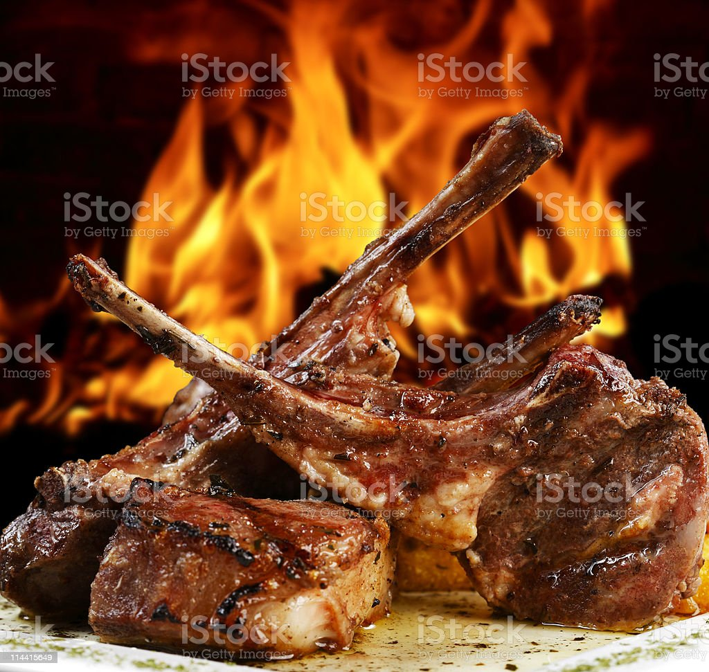 roast beef royalty-free stock photo