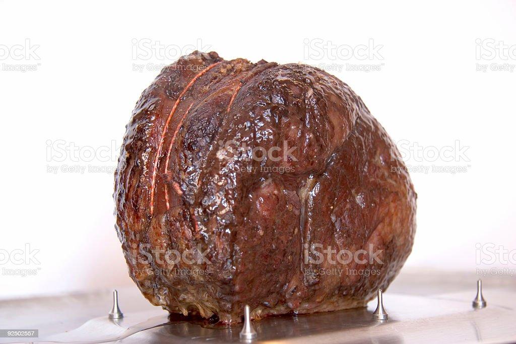 Roast beef royalty-free stock photo