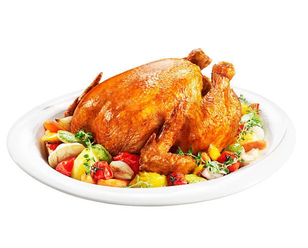Pollo asado (Haga clic para obtener más información - foto de stock