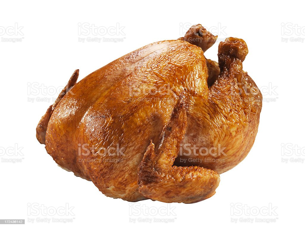 Roast Chicken (Click for more) stock photo