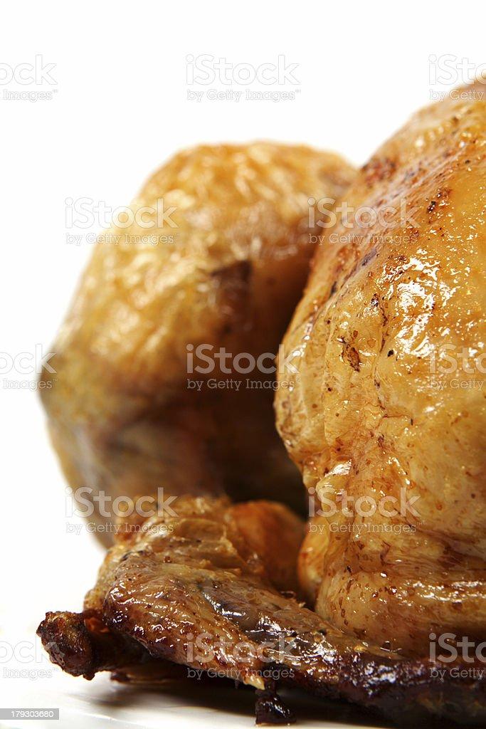 roast chicken royalty-free stock photo