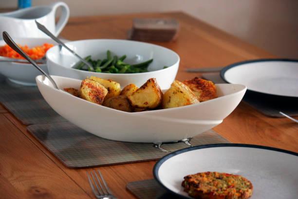 Roast Dinner stock photo