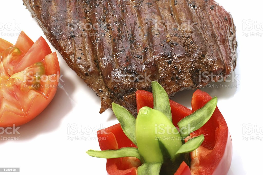 roast meat royalty-free stock photo