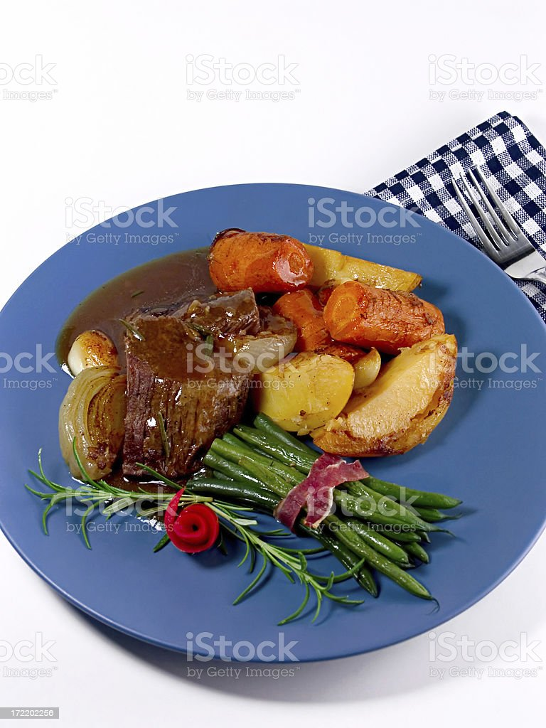 Roast royalty-free stock photo
