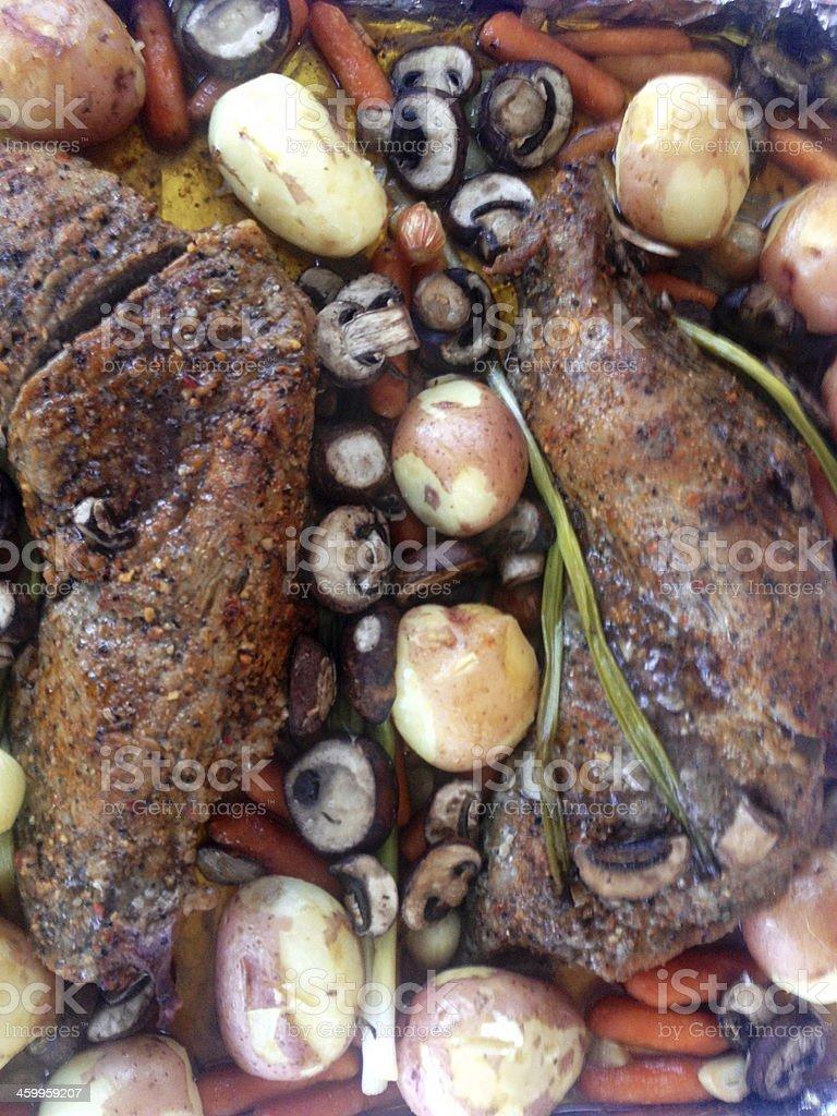 Roast stock photo