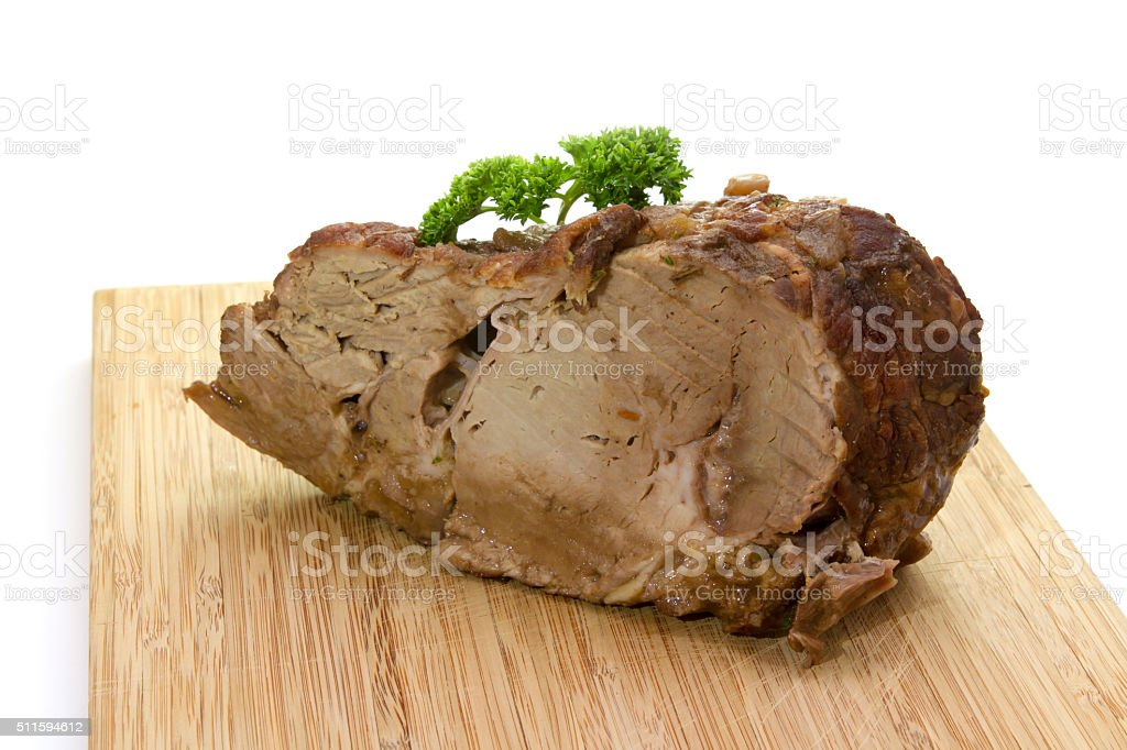Schweinebraten stock photo