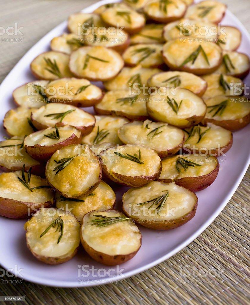 Roast Potatoes royalty-free stock photo