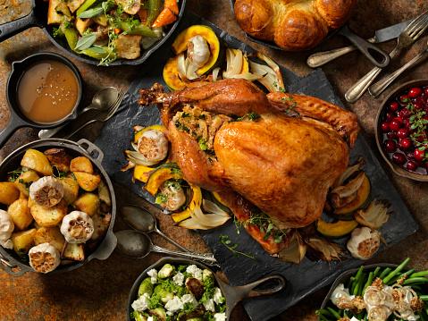 Thanksgiving Roast Turkey Dinner