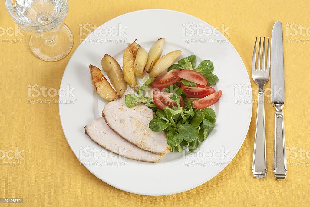 roast turkey royalty-free stock photo