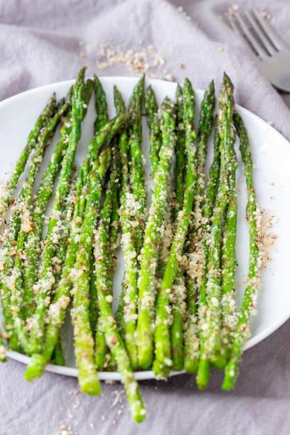 Roasted Asparagus stock photo